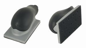 """Купить Ручной шлифовальный блок (рубанок) Mirka с пылеотводом 70мм х 125мм, 13 отверстий, крепление """"липучка"""" - Vait.ua"""
