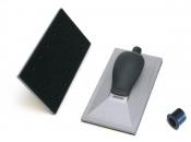 """Ручной шлифовальный блок (рубанок) Mirka с пылеотводом 115мм х 230мм, 36 отверстия, крепление """"липучка"""""""