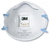 8822 Противоаэрозольный респиратор с клапаном 3M FFP2