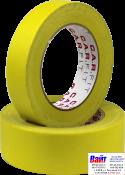 9-120-0050, C.A.R.FIT, Лента маскировочная, желтая влагоустойчивая (до 120°С), 50мм