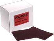 Матирующий лист скотч-брайт KOVAX Very Fine, 152мм х 229мм, красный
