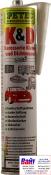 Герметик шовный PETEC (310мл) белый полиуретановый (кузовной)