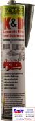 Герметик шовный PETEC (310мл) серый полиуретановый (кузовной)