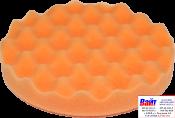999289, Koch Chemie, Полировальный круг анти-голограммный, оранжевый, рифленный, D 135 x 25 mm, липучка