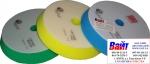 """9.BF150M Желтый полировальный круг для Rupes LHR15ES, крепление """"липучка"""" (Velcro), D 150"""
