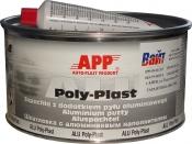 010223 Шпатлевка с алюминиевой пудрой APP ALU POLY-PLAST, 0,6 кг