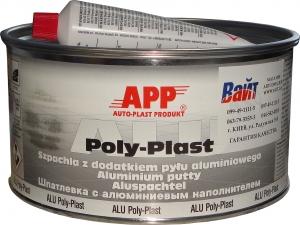 Купить 010225 Шпатлевка с алюминиевой пудрой APP ALU POLY-PLAST, 1,8 кг - Vait.ua