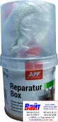 010701 Ремонтный комплект PE POLY-PLAST (смола + стеклоткань), 0,25кг