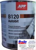 050801 Масса для защиты и консервации кузова автомобиля <APP-Autobit P>, чёрная, 1,3кг