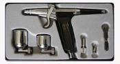 Аэрограф Air Pro AB-116 + 2 сменных бачка в комплекте, дюза 0,2 мм