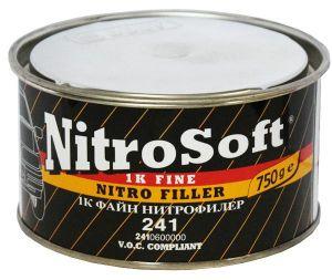 Купить Однокомпонентная нитрошпатлевка BODY Nitro Soft 1К, 0,75 кг - Vait.ua