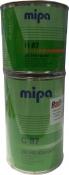 Лак акриловый бесцветный 2К HS MIPA (1л) + отвердитель (0,5л)