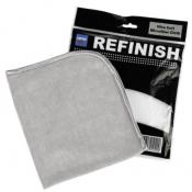 Микрофибровая салфетка Cartec Ultra Soft Microfiber Cloth (ультра мягкая) серая, 40х40 см