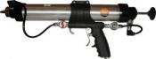 Универсальный пистолет VGL CG2033MCR-13 для картриджей и мягких труб, 600мл, пневматический