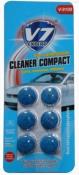 """Летний концентрат в бачек омывателя CLEANER COMPACT Expert V7, с запахом """"Морская свежесть"""" (6 таблеток)"""