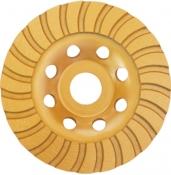 Фреза торцевая шлифовальная алмазная Turbo INTERTOOL CT-6215, 115 х 22,2 мм
