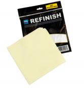Микрофибровая салфетка Cartec Soft Microfiber Cloth (мягкая) желтая, 40х40 см