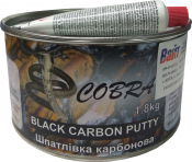 Шпатлевка карбоновая Cobra Black Carbon Putty,1,8кг