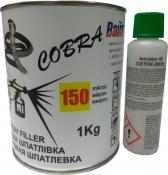 Шпатлевка распыляемая (жидкая) Cobra Spraying Putty,1кг