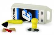 Набор маленьких шлифков Corcos (2 шлифка) + абразивы