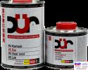 D323, DUR HS Klarlack, Двухкомпонентный бесцветный HS лак с высоким содержанием сухого остатка, 1л