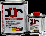 D551, DUR UHS Grundüller, UHS Грунт-наполнитель с высоким содержанием сухого остатка, светло серый, 1л