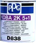 D838 Толстослойный 2К грунт PPG KOBA 5+1, 3л, бежевый