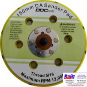 """Диск-подошва универсальная DDCars D150 мм, 5/16"""" для шлифовальных машинок (6 отверстий)"""