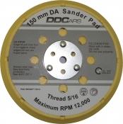 """Диск-подошва универсальная DDCars D150 мм, 5/16"""" для шлифовальных машинок (15 отверстий) с адаптерами FESTO / MAKITA"""
