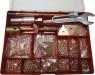 Набор привариваемых насадок для правки стали в пластиковой коробке (расходные материаллы для споттера)