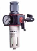 Фильтр-влагомаслоотделитель DeVilbiss с регулятором давления DVFR-3
