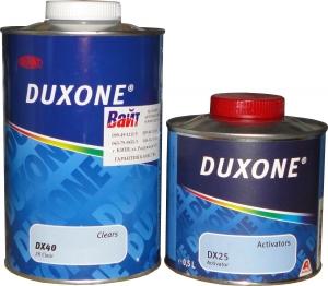 Купить DX-40 Лак акриловый MS Duxone® в комплекте с активатором DX 25, 1л + 0,5л - Vait.ua