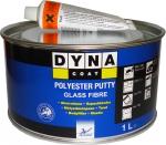 Шпатлёвка со стекловолокном DYNA Glass Fibre Putty, 1л