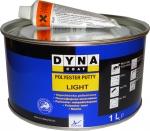 Легкая полиэфирная шпатлевка DYNA Polyester Putty Light, 1л