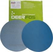 Круг абразивный Deerfos FILM VELCRO, D150mm, без отверстий, P100