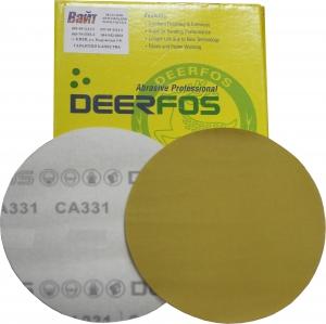 Купить Круг абразивный Deerfos GOLD VELCRO, D150mm, без отверстий, P80 - Vait.ua