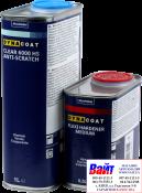 Лак акриловый DYNACOAT 6000 CLEAR HS ANTISCRATCH (1л) + отвердитель (0,5л)