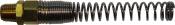 """FD 6510 1/4"""" PT SUMAKE Переходник с пружиной для шланга (наружная резьба), 6,5 х 18мм"""