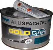 Шпатлёвка с алюминием Alu GOLD CAR, 1,5кг
