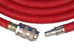 Купить Воздушный шланг DeVilbiss 10м (внутр. диам. 8 мм) в комплекте с быстросъемными соединениями - Vait.ua