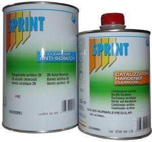 Купить H62 2K Лак со средним содержанием твердых веществ MS ANTI-SCRATCH 2:1 (не царающийся) 1л + отвердитель С03 0,5л - Vait.ua