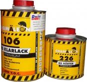 Бесцветный лак HS Chamaleon Klarlack Premium Low V.O.C.106 (1л) с отвердителем 226 (0,5л)