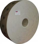 Абразивная бумага в рулоне на поролоне без перфорации INDASA RHYNOSOFT rhynalox plus line (без упаковки), 115мм x 25м, P120