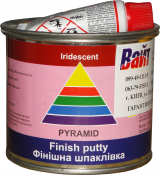 Шпатлевка финишная Iridescent Pyramid STANDART FINISH PUTTY, 0,25 кг