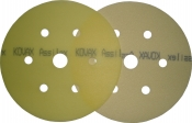 Круг матирующий KOVAX SUPER ASSILEX LEMON (жёлтый), D152mm, 7 отверстий, P800