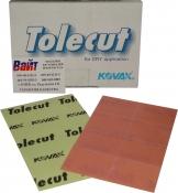 Абразивные листы KOVAX TOLECUT, 1/8 порезанные, P2000, розовые