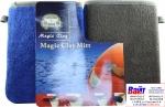 Marflo Рукавица синяя, двусторонняя микрофибра с нанесенной глиной для очистки, 1шт