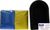 Marflo Аппликатор с 2-мя видами глины синяя + желтая, 1шт