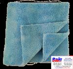 Салфетка полировальная из микрофибры MENZERNA голубая, 40 х 40см, мягкая