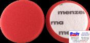 Круг полировальный Heavy Cut на липучке MENZERNA диаметр 95 мм,PREMIUM,жесткий, красный, 1 шт.